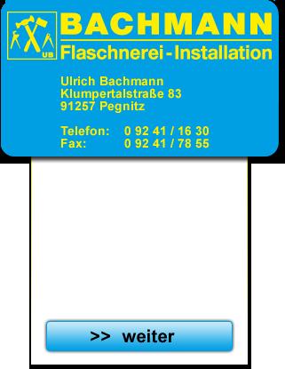Bachmann - Flaschnerei-Installation